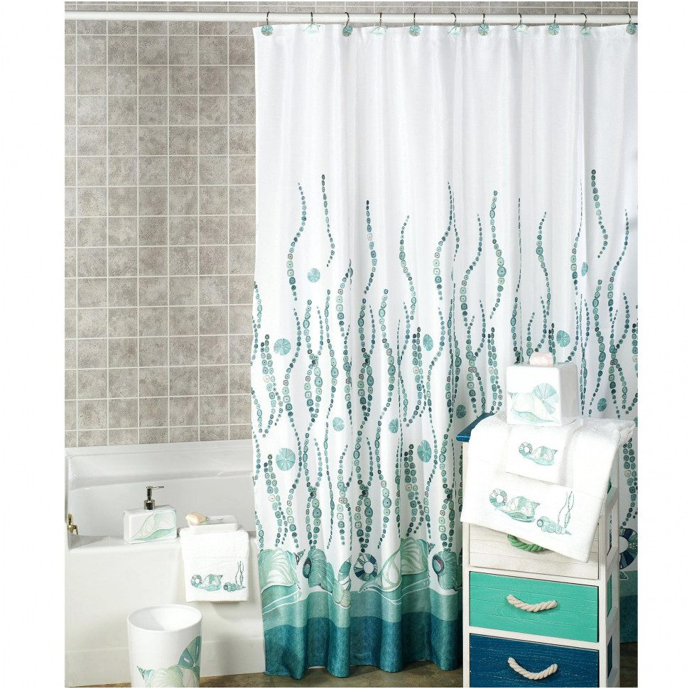 Curtains Drapes Magnificent Beach Themed Shower Curtains Best for dimensions 970 X 970