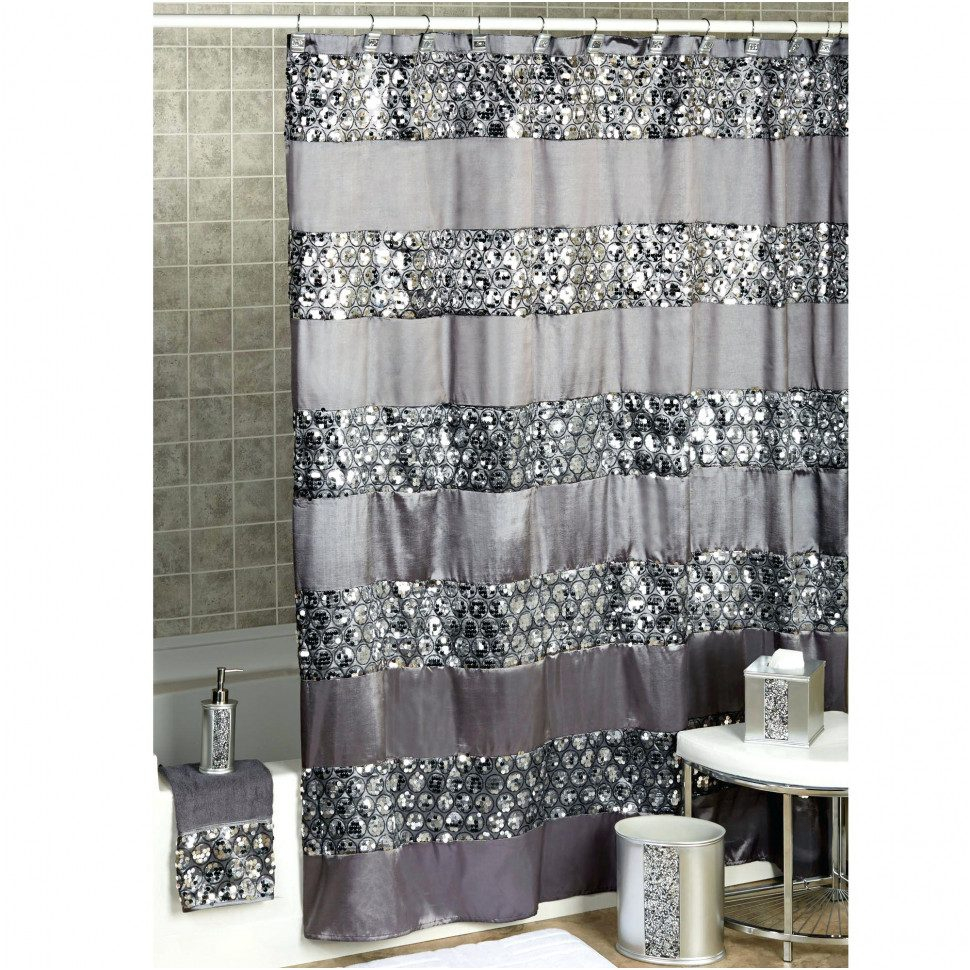 Curtains Drapes Wonderful Gray And Brown Shower Curtain Throughout Dimensions 970 X