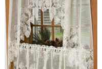 Curtains Lace Shower Curtain Beautiful Ivory Lace Curtains intended for dimensions 1442 X 815