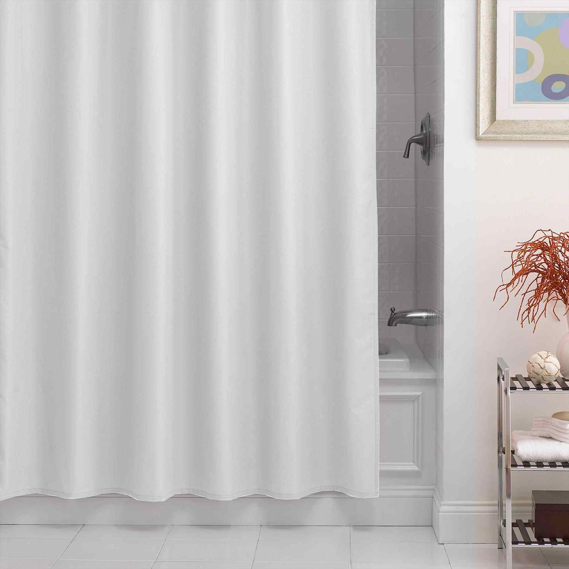 Curtains Lush Decor Lucia Inch Amazoncom White Fabric Shower throughout proportions 1899 X 1899
