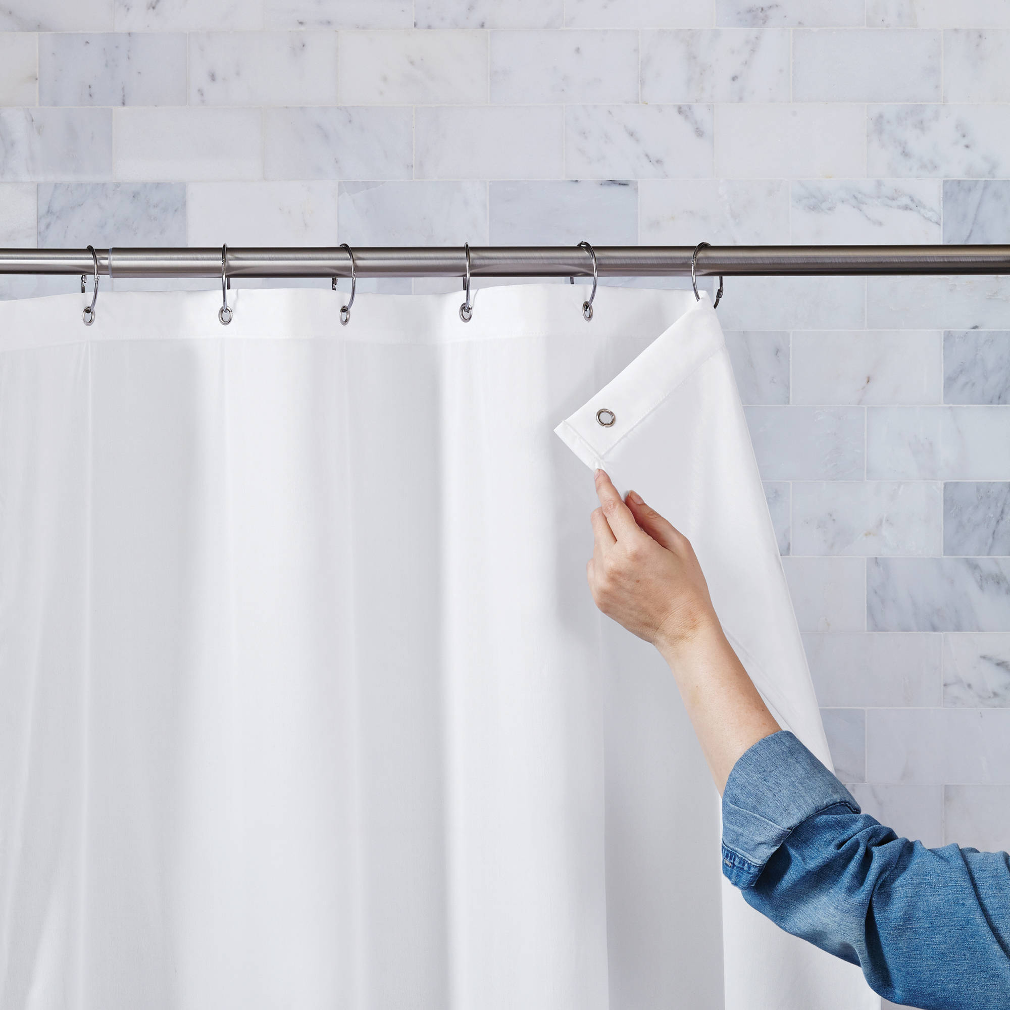 Curtains Shower Curtain Liner Walmart Extra Long Shower Curtain with proportions 2000 X 2000