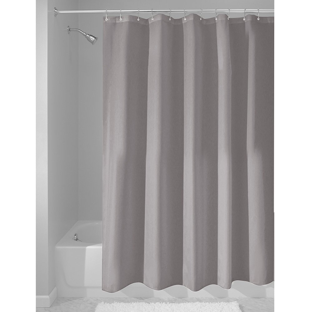 Terrific clawfoot tub shower curtain liner photos best for Bathroom liner