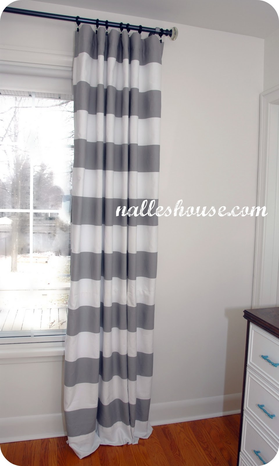 Cute Striped Fabric Shower Curtain Striped Linen Shower Curtain intended for size 960 X 1600