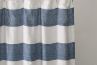 Cute White And Blue Shower Curtain Outstanding Navy Curtains for measurements 1500 X 1500