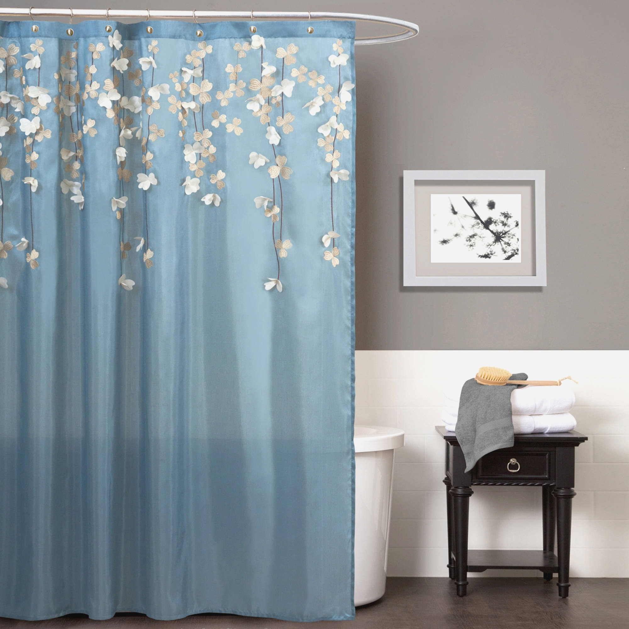 Daisy Shower Curtain Rings • Shower Curtains Ideas