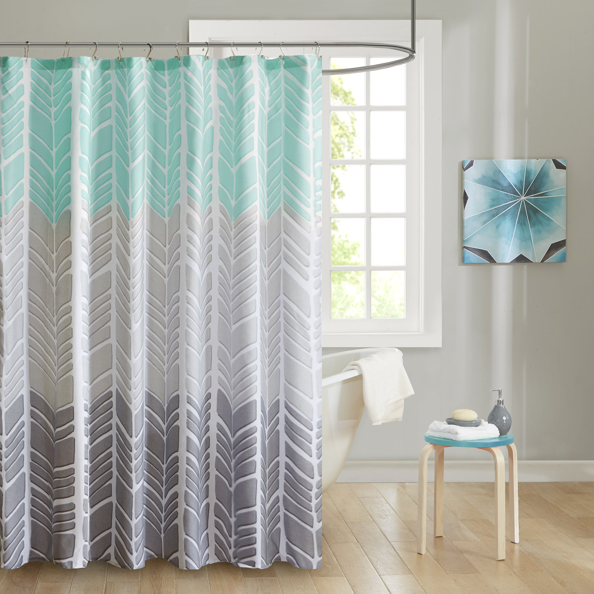 Decorations Cute Bathroom Decor Ideas With Shower Curtains With with regard to proportions 2000 X 2000