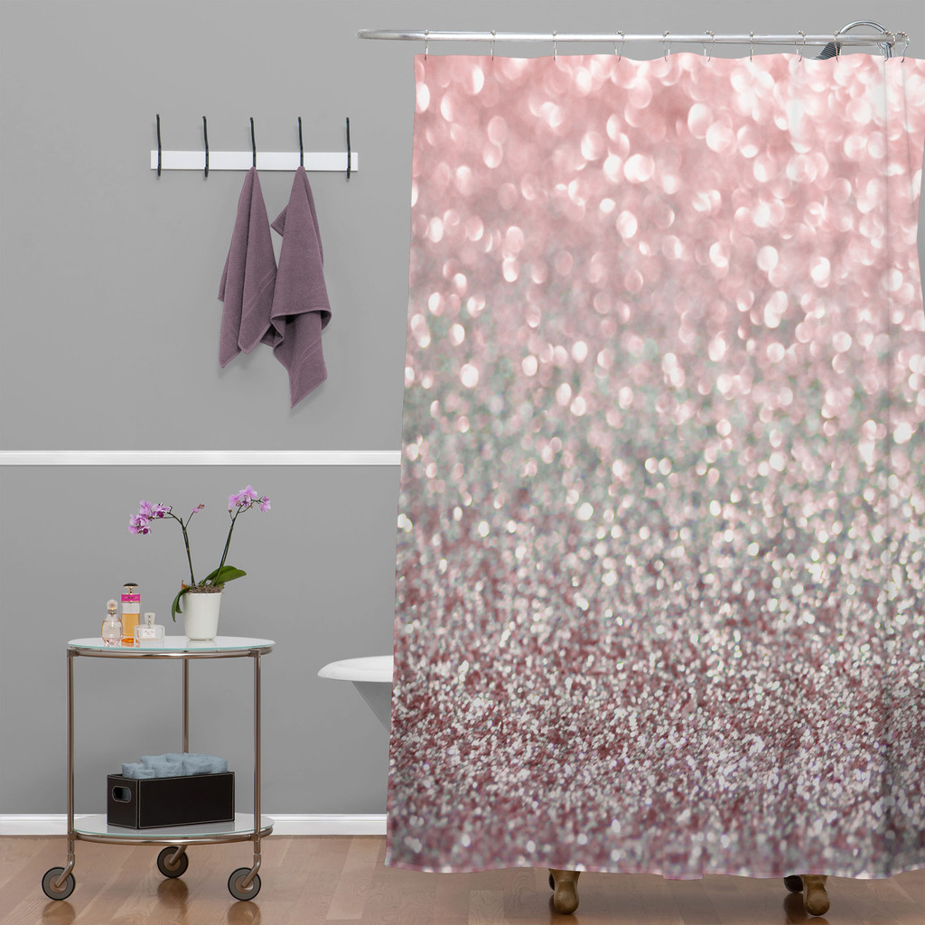 Elegant Pink Shower Curtain Yodersmart Home Smart Inspiration Pertaining To Dimensions 1024 X