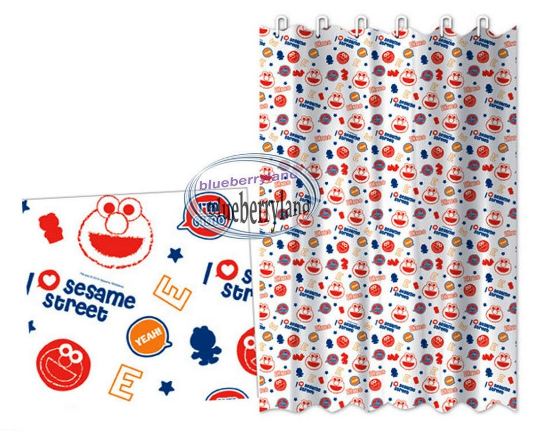 Elmo Shower Curtain Set Shower Curtains Design within size 1053 X 849
