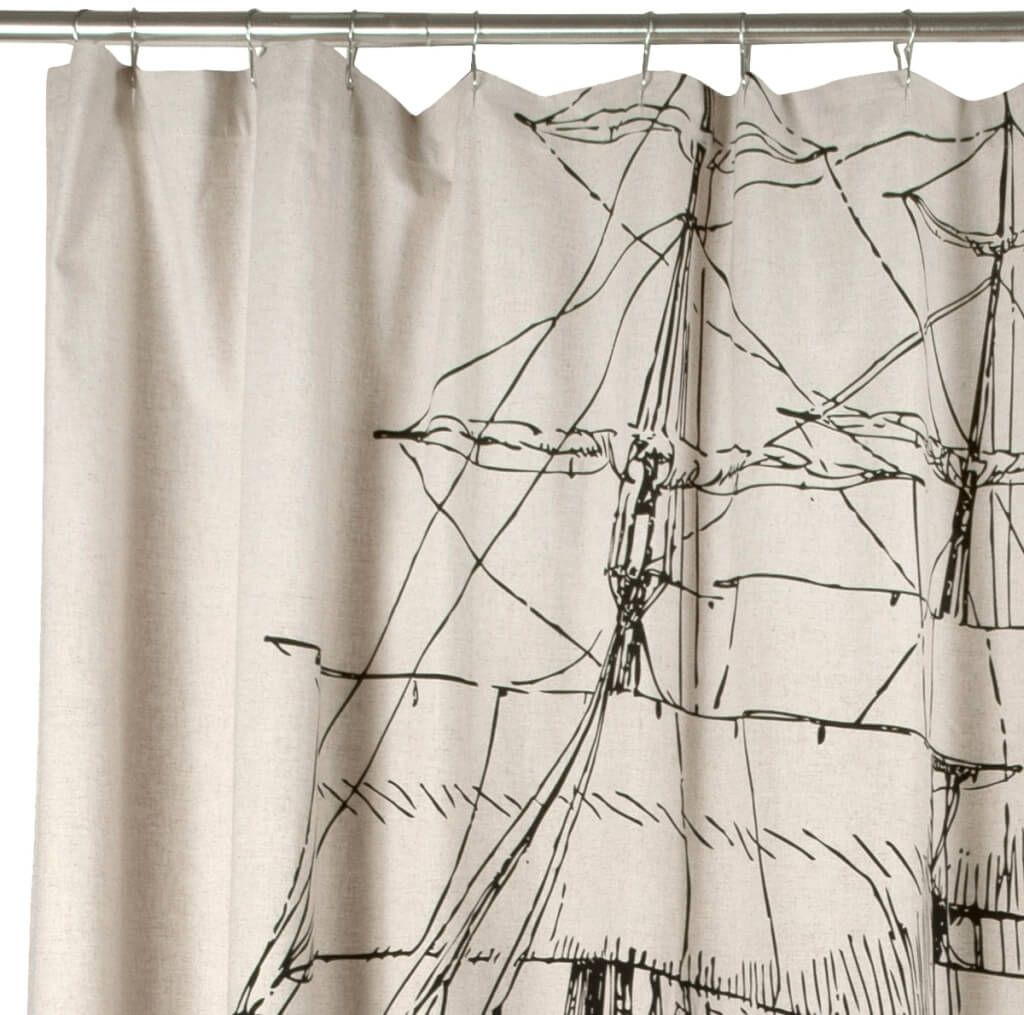 Entertainment Center Nautical Shower Curtain Hooks 3 Nautical regarding size 1024 X 1015