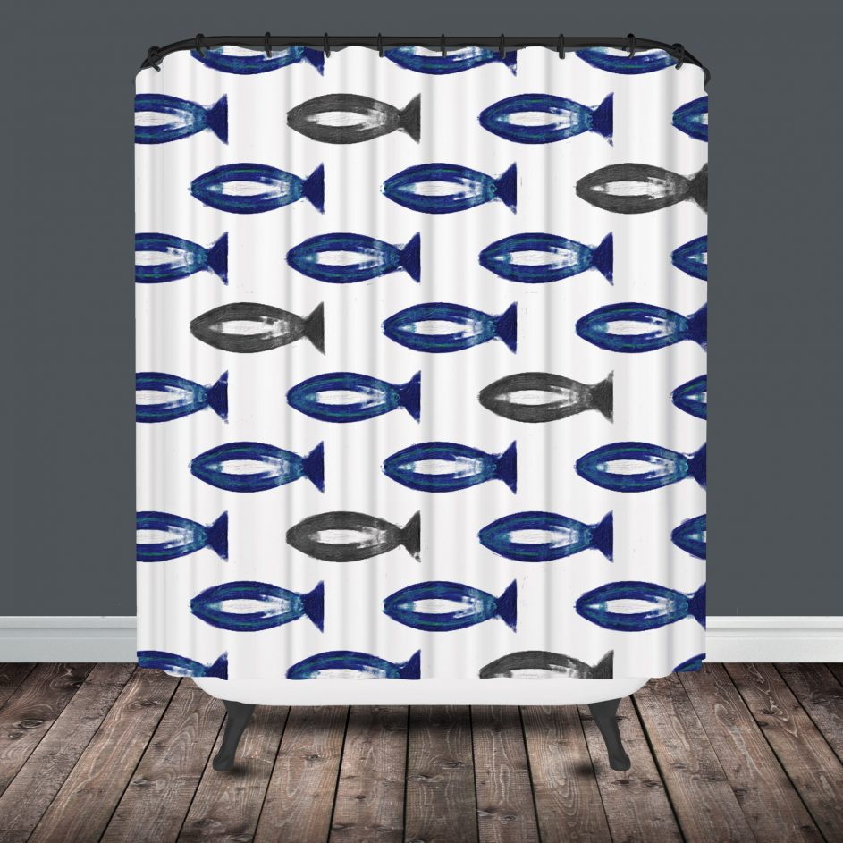 Ergonomic Fish Shower Curtains 26 Tropical Fish Shower Curtain for proportions 943 X 943