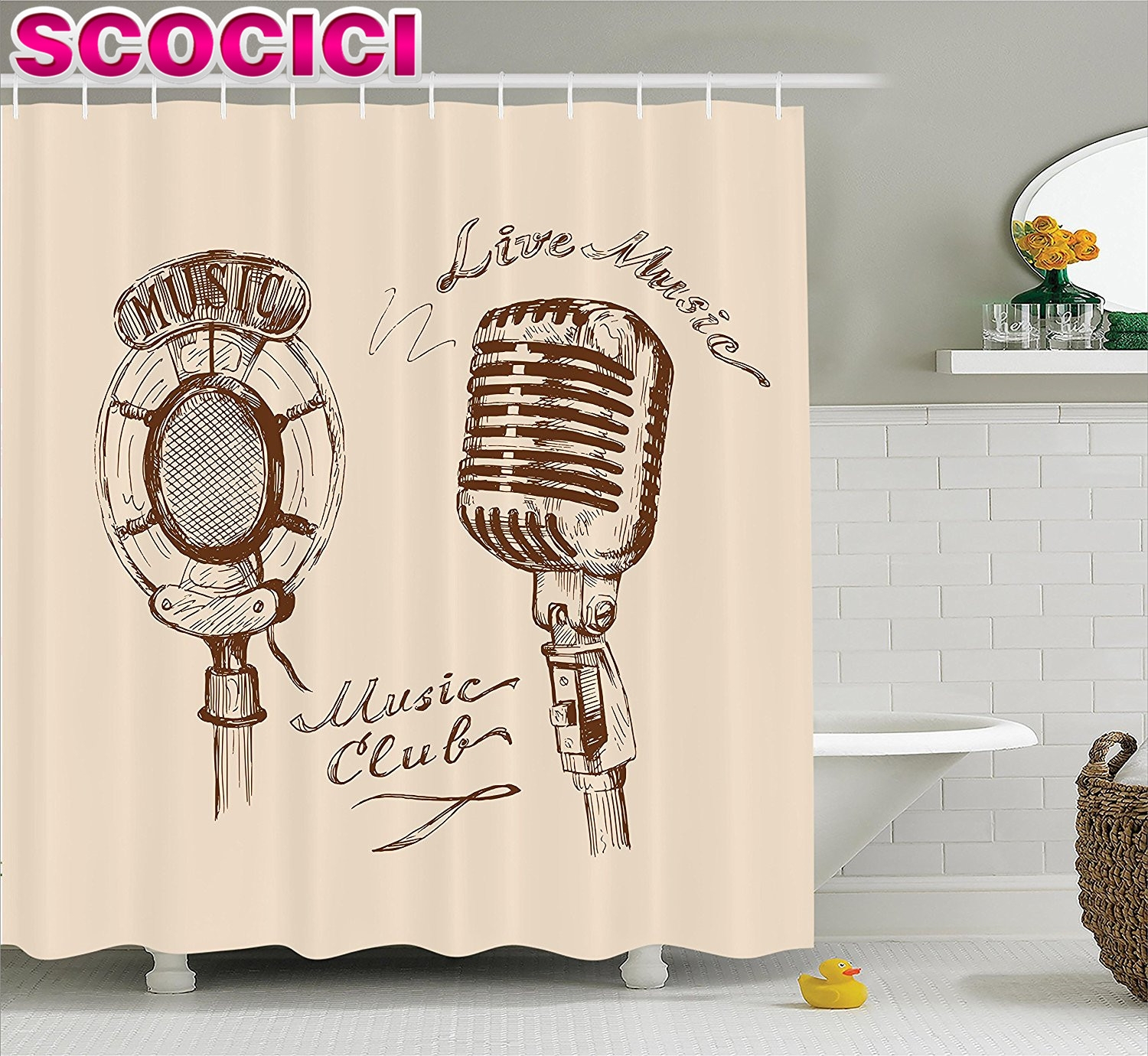Excellent Jazz Shower Curtain Images Bathtub For Bathroom Ideas inside size 1500 X 1380