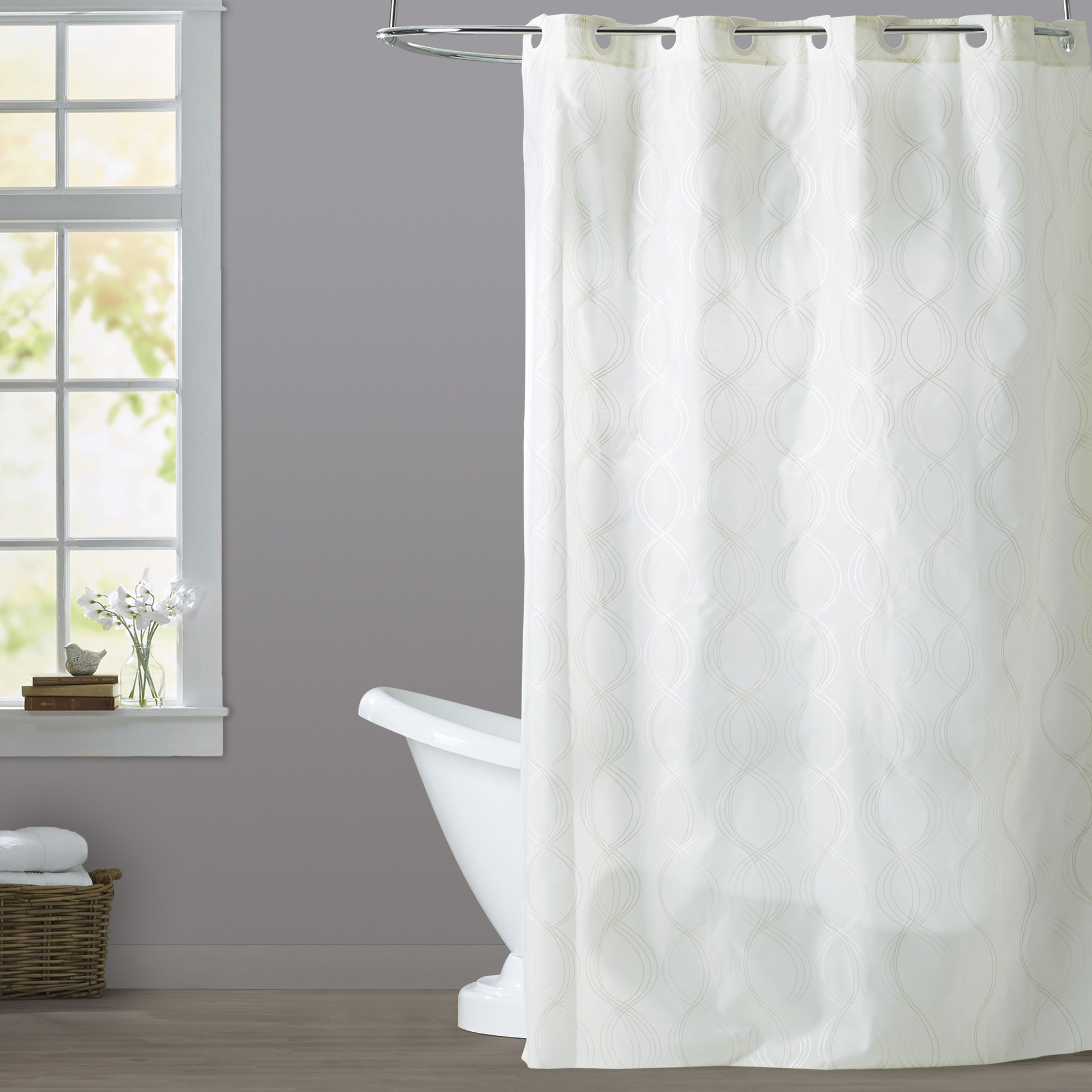 Excellent Nicole Miller Shower Curtains Gallery Bathtub For Intended Measurements 1920 X