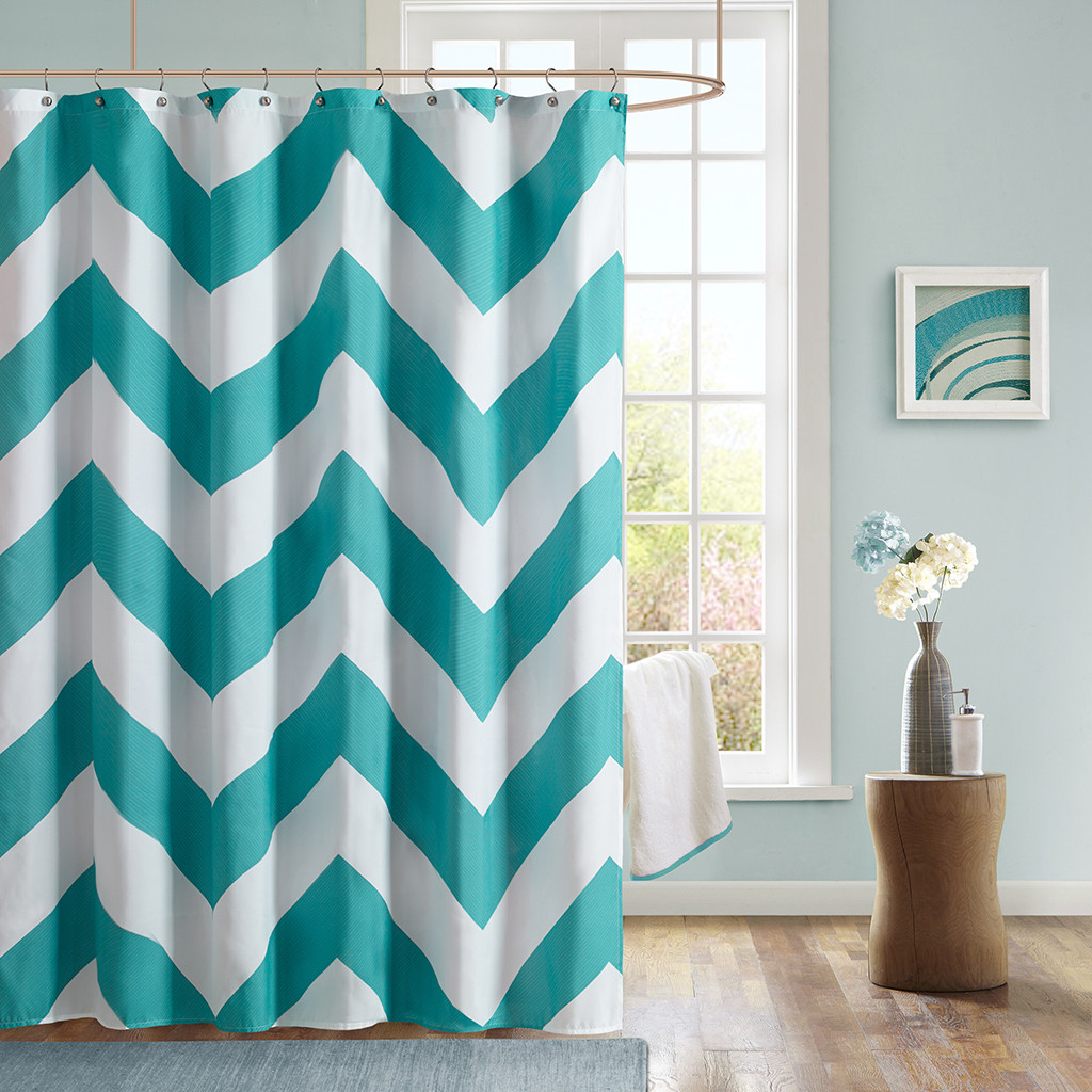 Fabric Aqua Curtain And Brown Shower Curtain Useful Reviews Of pertaining to proportions 1024 X 1024