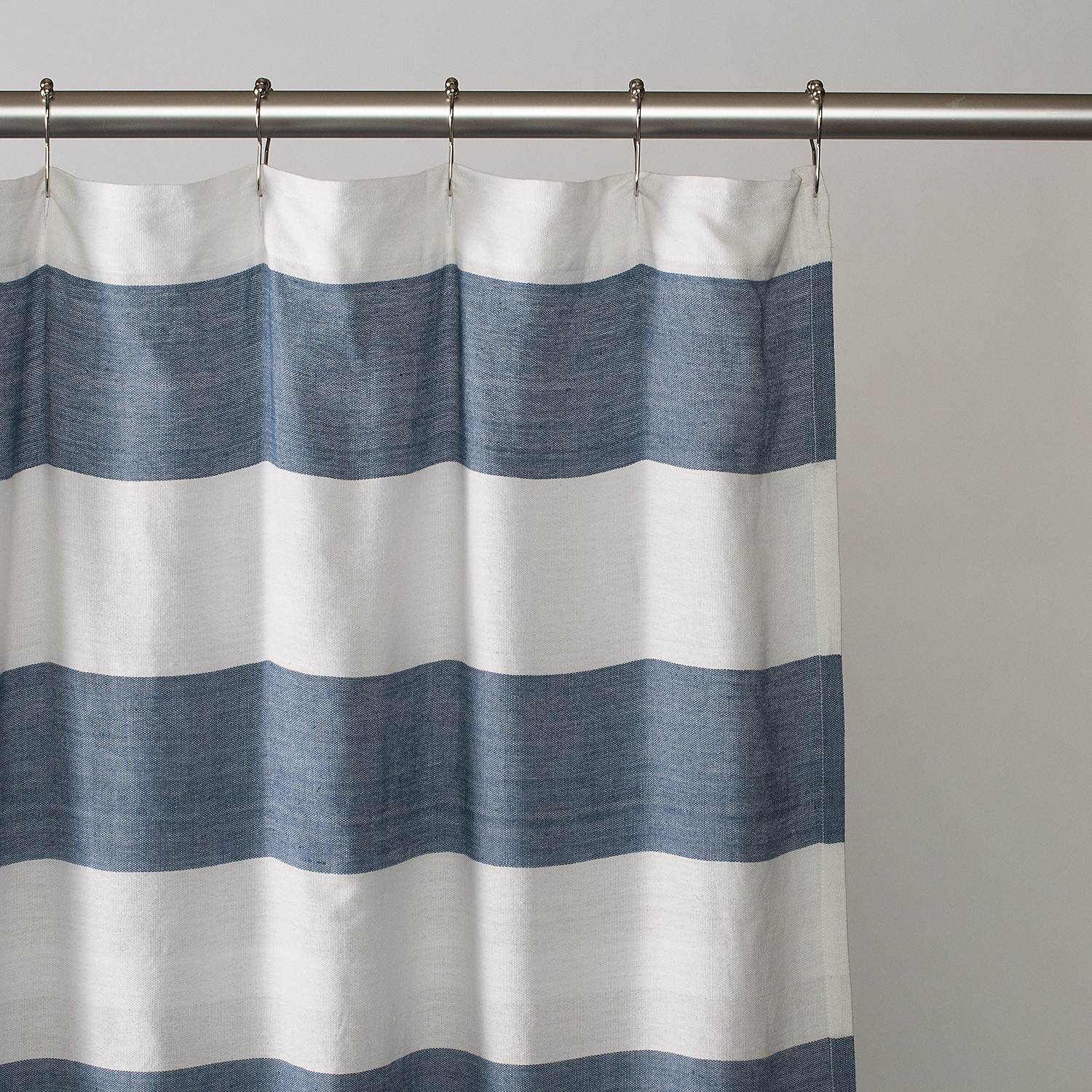 Grey White Striped Shower Curtain. Fashionable Striped Shower Curtain The Homy Design inside proportions 1500  X Blue And White Curtains Ideas