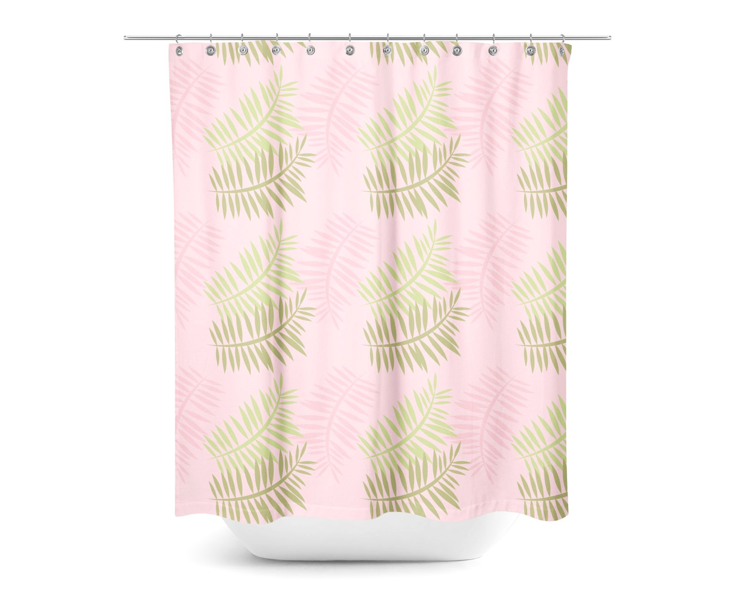 Fine Fern Shower Curtain Pictures Inspiration Bathtub For inside sizing 1500 X 1207