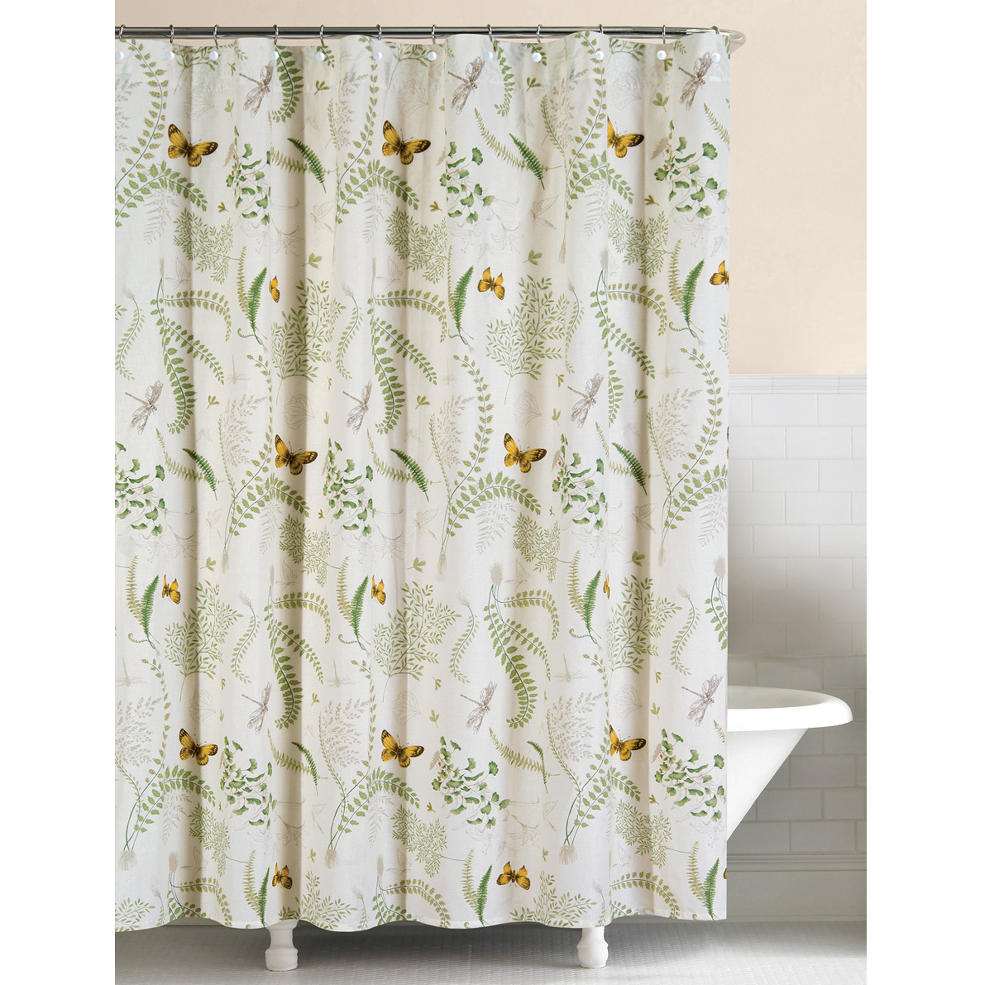 Fine Fern Shower Curtain Pictures Inspiration Bathtub For with regard to sizing 2000 X 2000