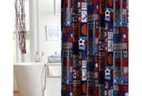 Football Themed Shower Curtains Shower Curtain in dimensions 2000 X 2000