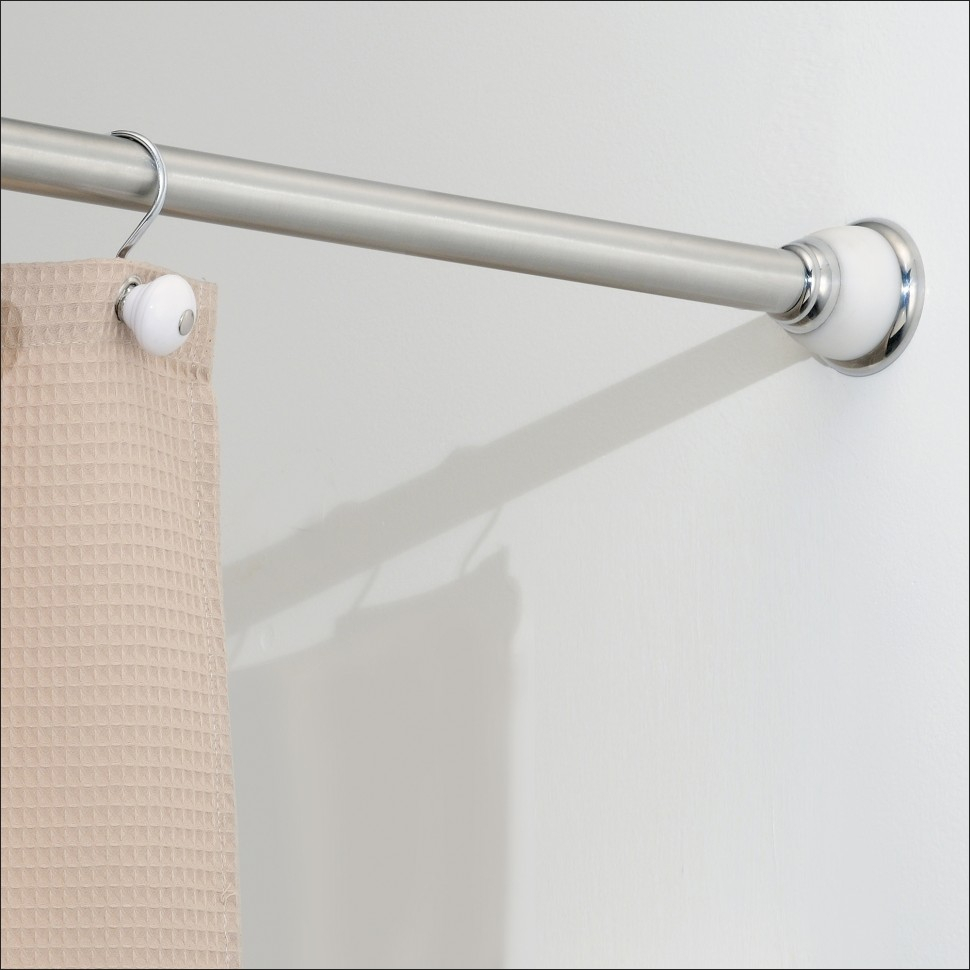 Magnetic Shower Curtain Rod • Shower Curtains Ideas