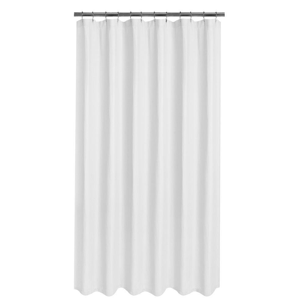 Glacier Bay Luxury Spa Waffle 70 In X 72 In Fabric Shower within sizing 1000 X 1000