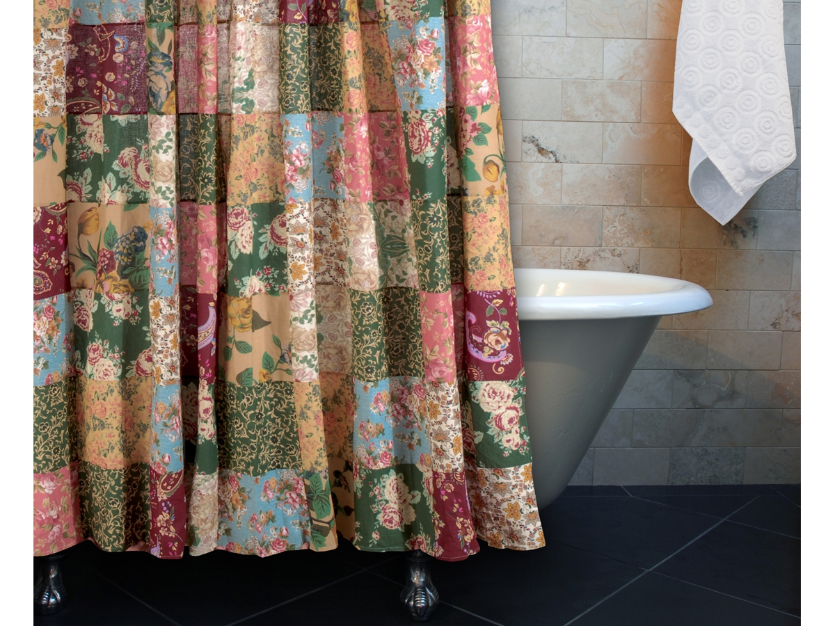 Greenland Blooming Prairie Shower Curtain Shower Curtain Ideas with sizing 1200 X 900