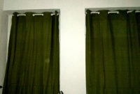 Hanging Curtains Without Drilling With Ore Shower Curtain Rod inside size 1200 X 900
