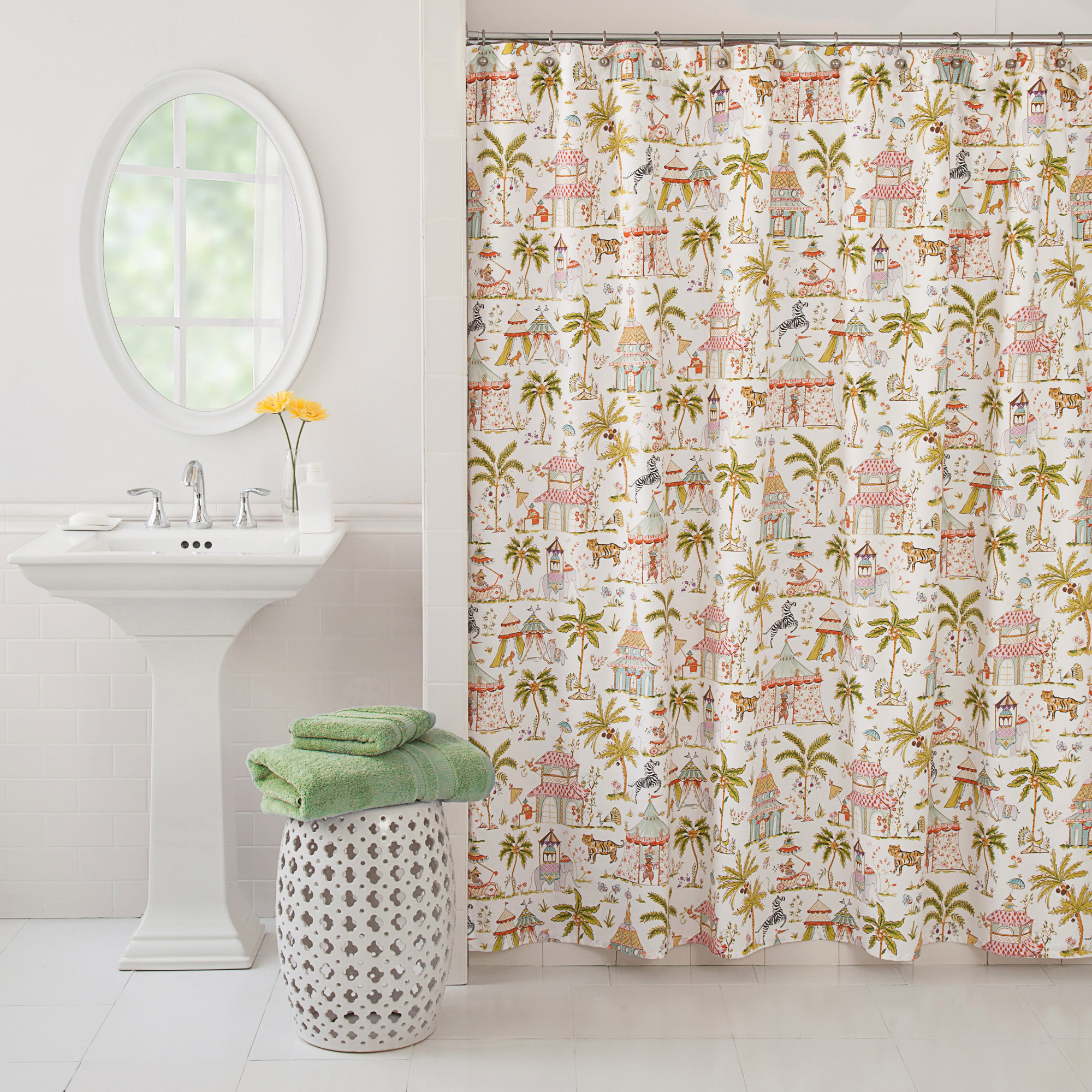 Haute Home Embroidered Shower Curtains • Shower Curtains Ideas