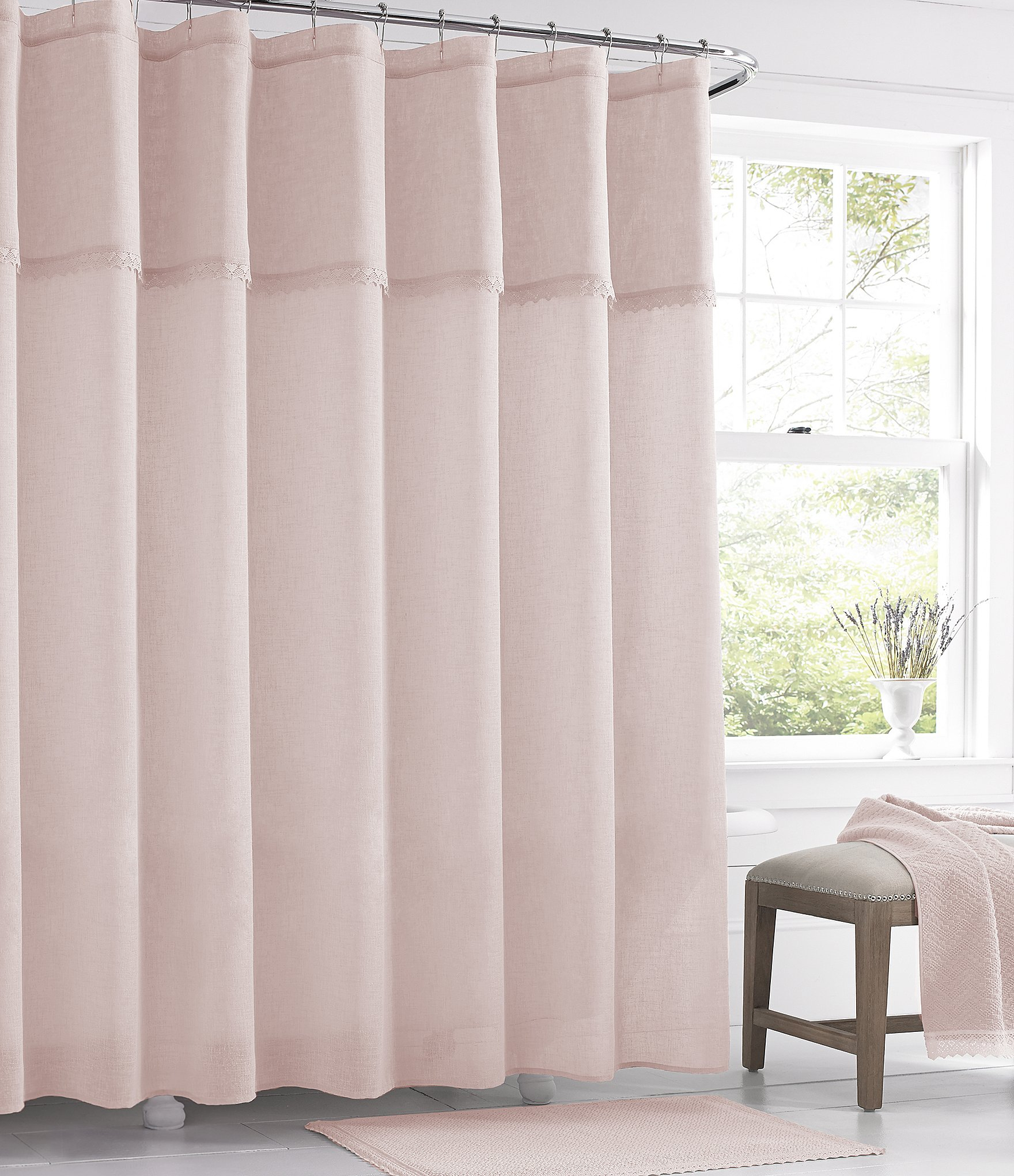 pleasurable plum and bow curtains. Home Bath Personal Care Shower Curtains Rings Dillards regarding  proportions 1760 X 2040 Crochet Curtain Ideas