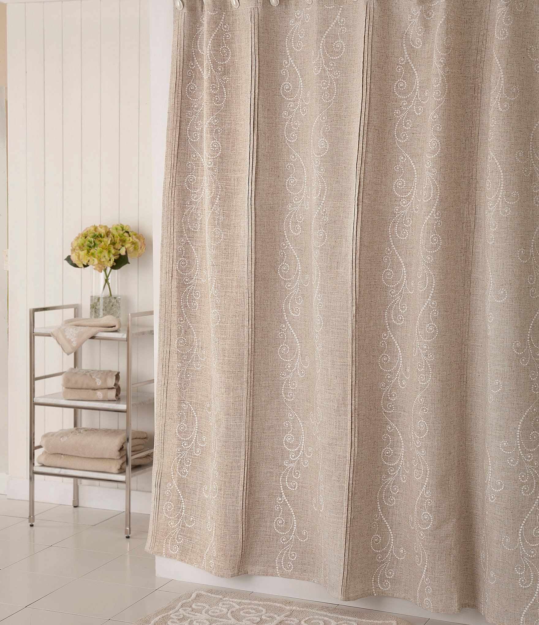 Home Bath Personal Care Shower Curtains Rings Dillards throughout proportions 1760 X 2040