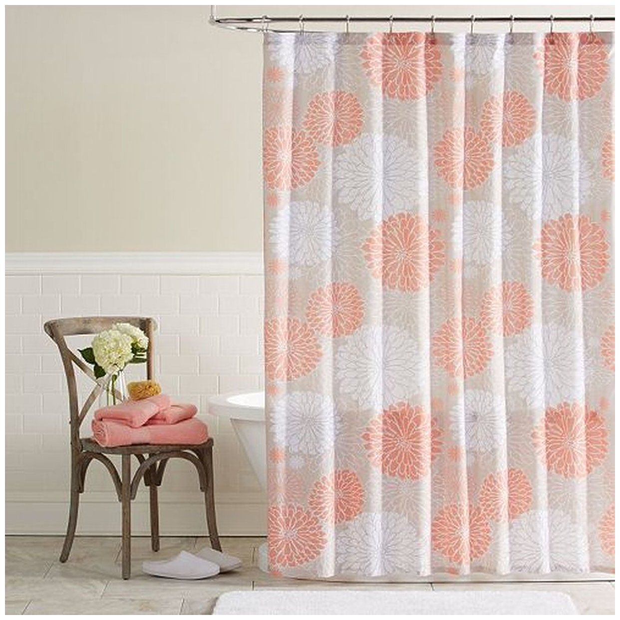 Priscilla Bathroom Shower Curtains • Shower Curtains Ideas
