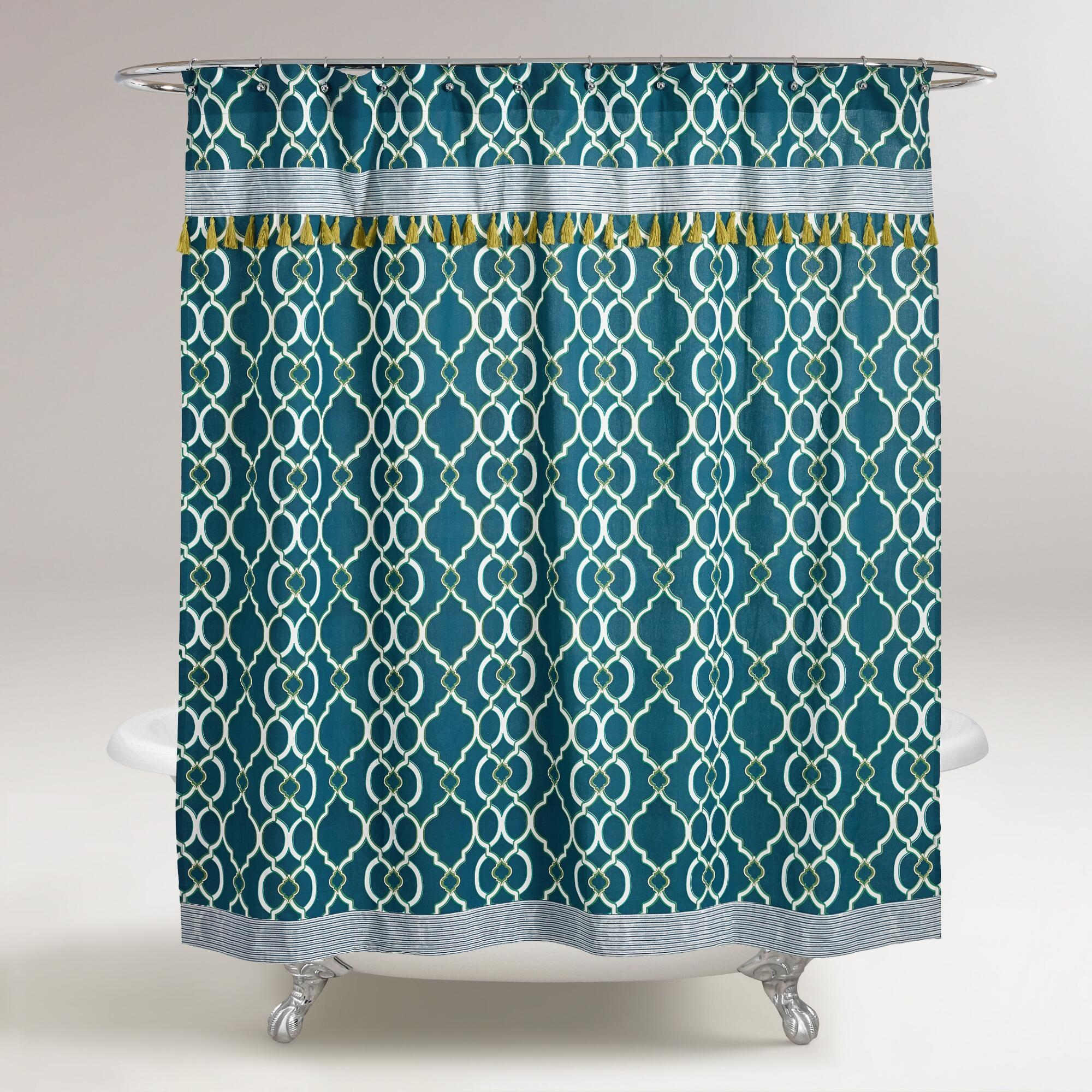 Ikat Shower Curtain World Market Shower Curtain Ideas inside size 2000 X 2000