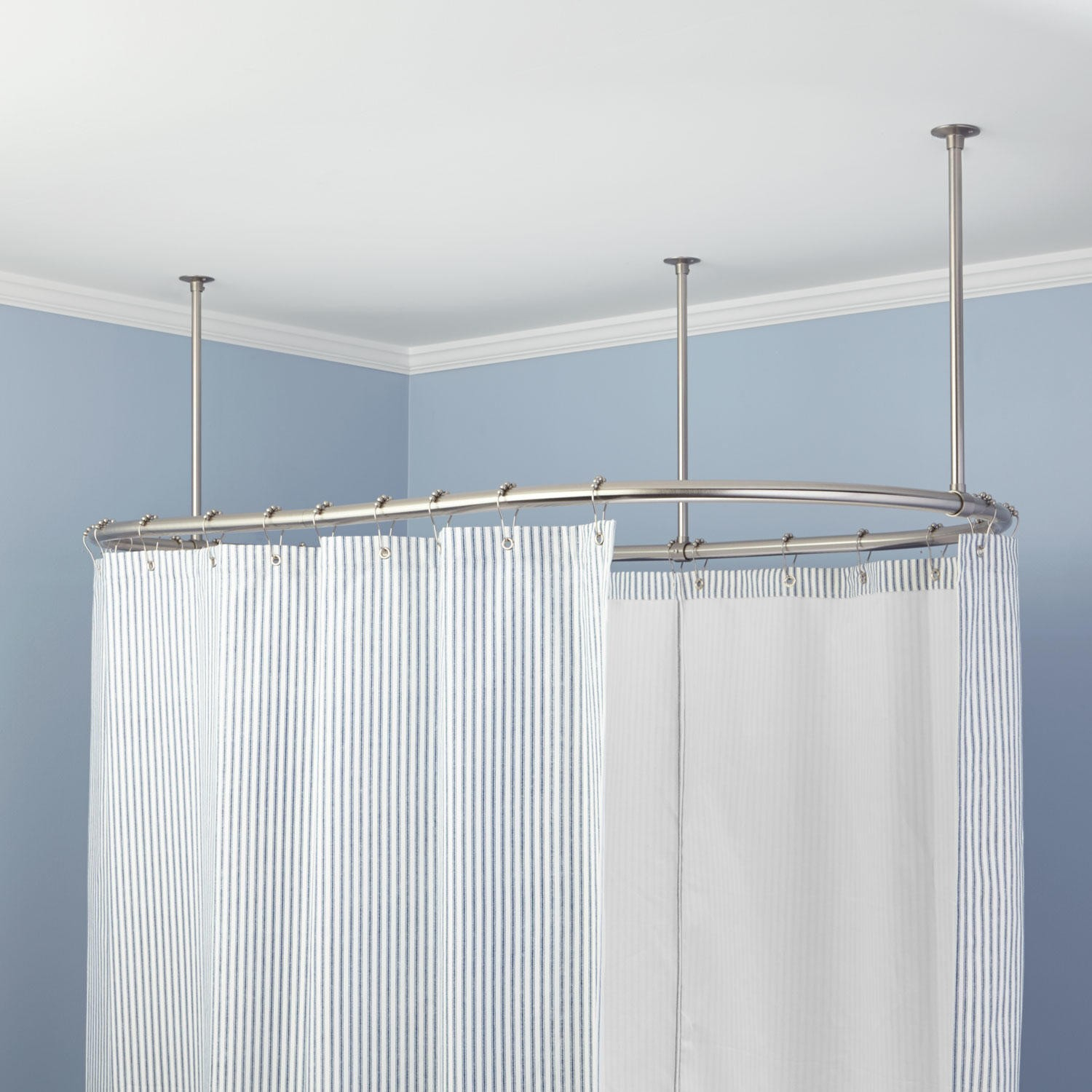 Impressive Design Shower Curtain Rod Oval Solid Brass Shower regarding measurements 1500 X 1500