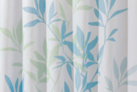 Interdesign 72 In X 72 In Shower Curtain In Soft Bluegreen inside proportions 1000 X 1000