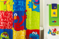 Jay Franco Sesame Street Shower Curtain Shower Curtain Design pertaining to proportions 1150 X 1408