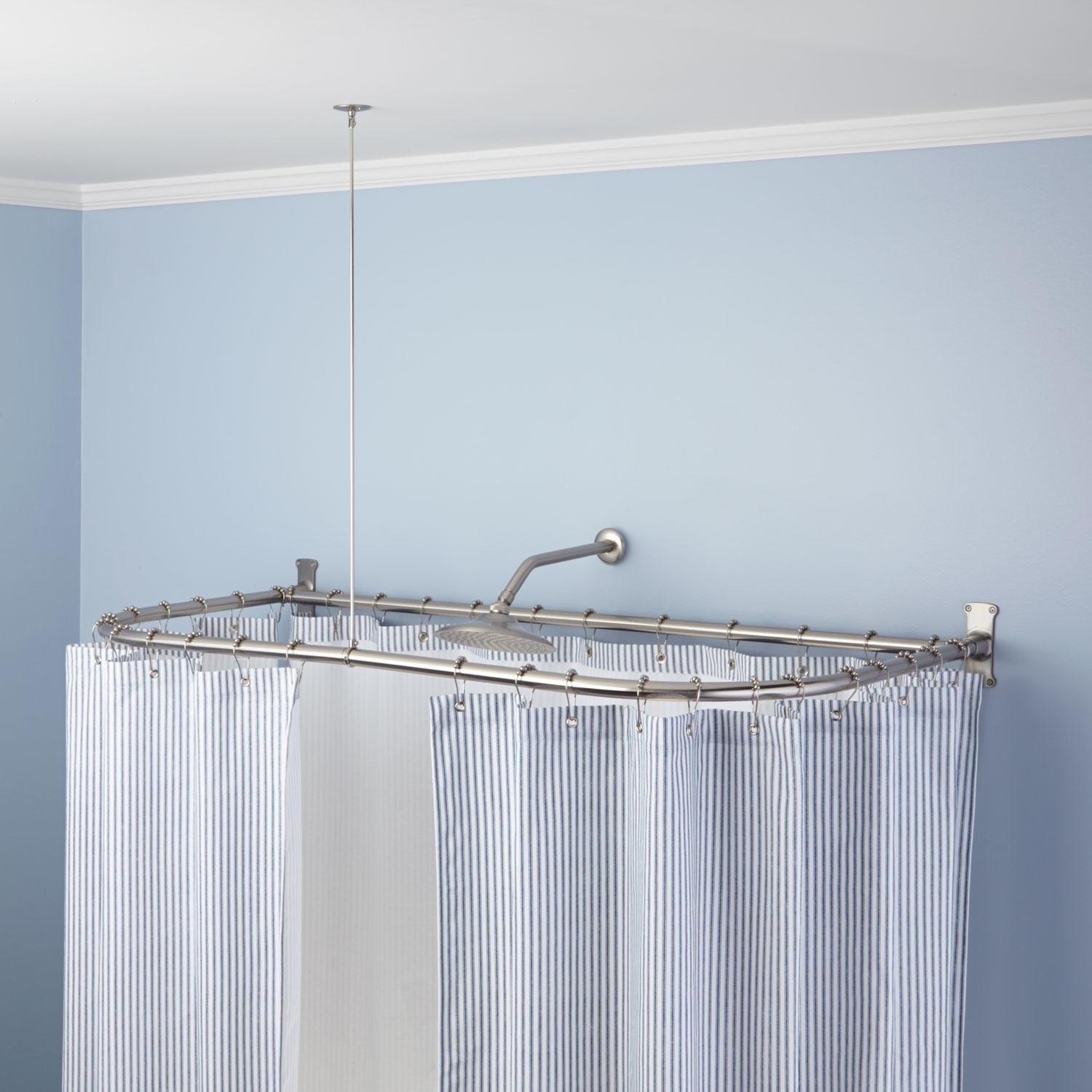 L Shaped Shower Curtain Rod Home Decor Inspirations For Dimensions 1500 X  1500