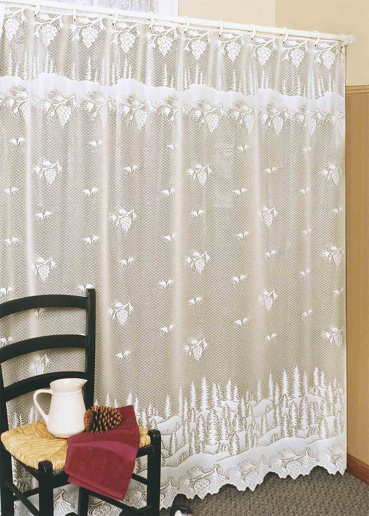 Lace Shower Curtains From Heritage Lace inside measurements 1200 X 1680