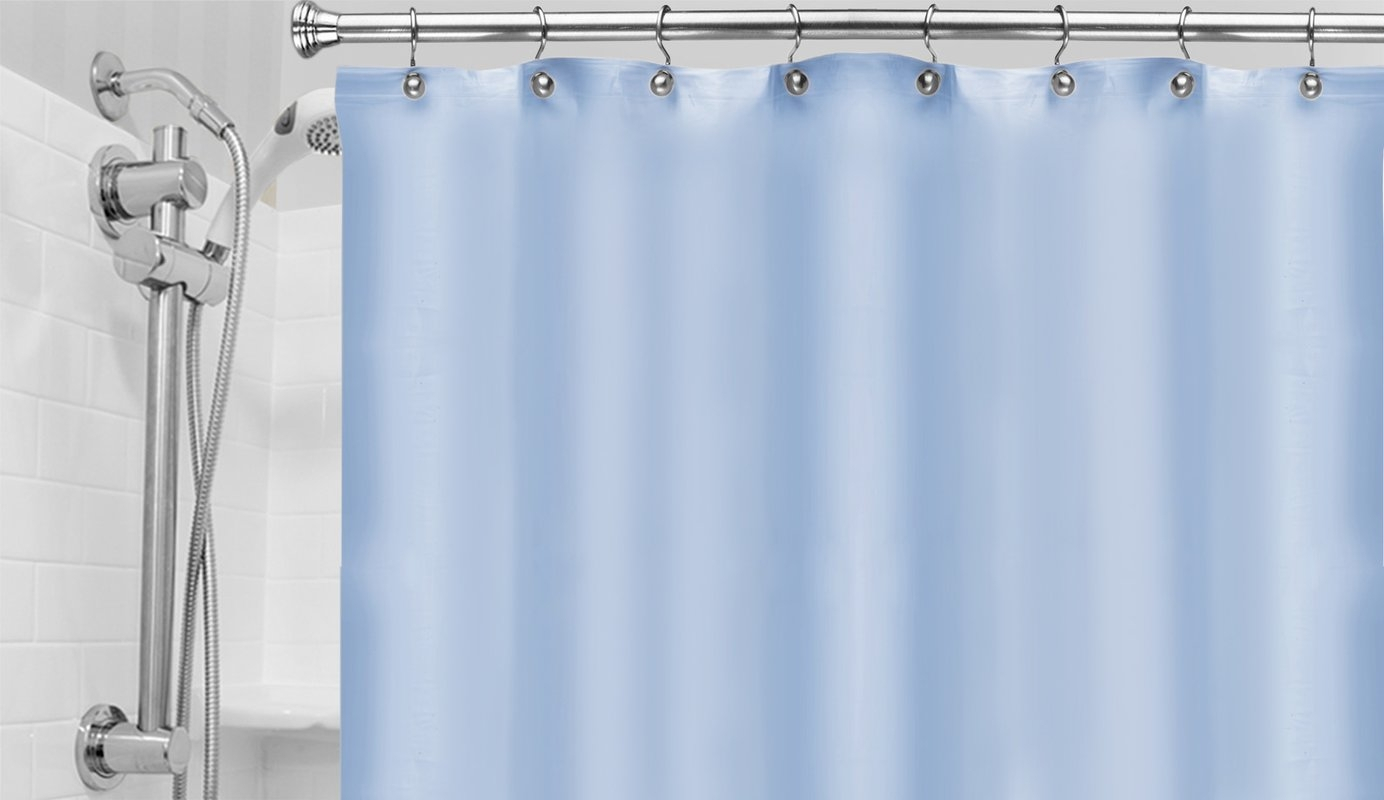 Light Blue Shower Curtain Liner • Shower Curtains Ideas