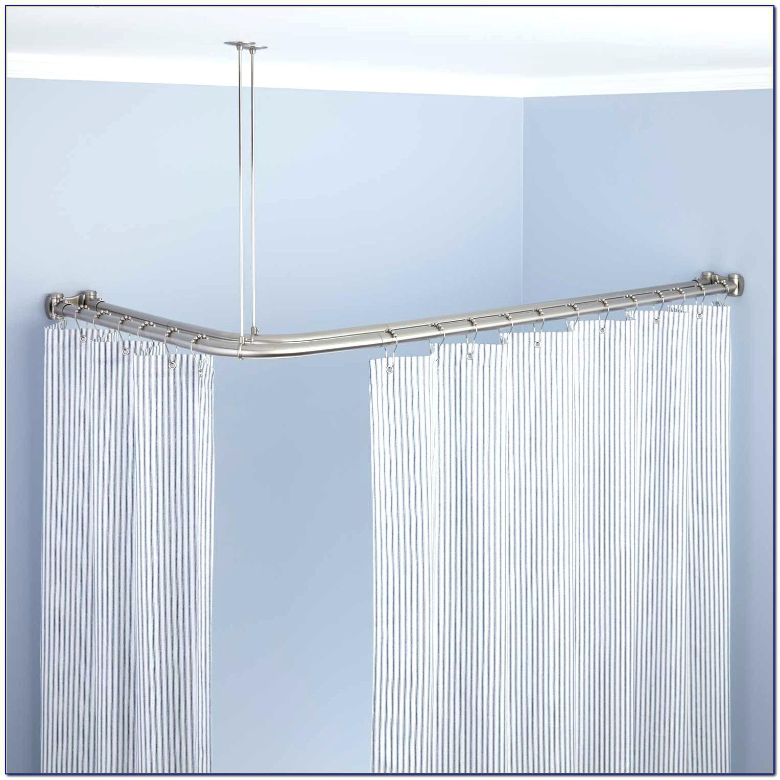95 Buy Croydex Square Shower Curtain Rod And Rings Buy