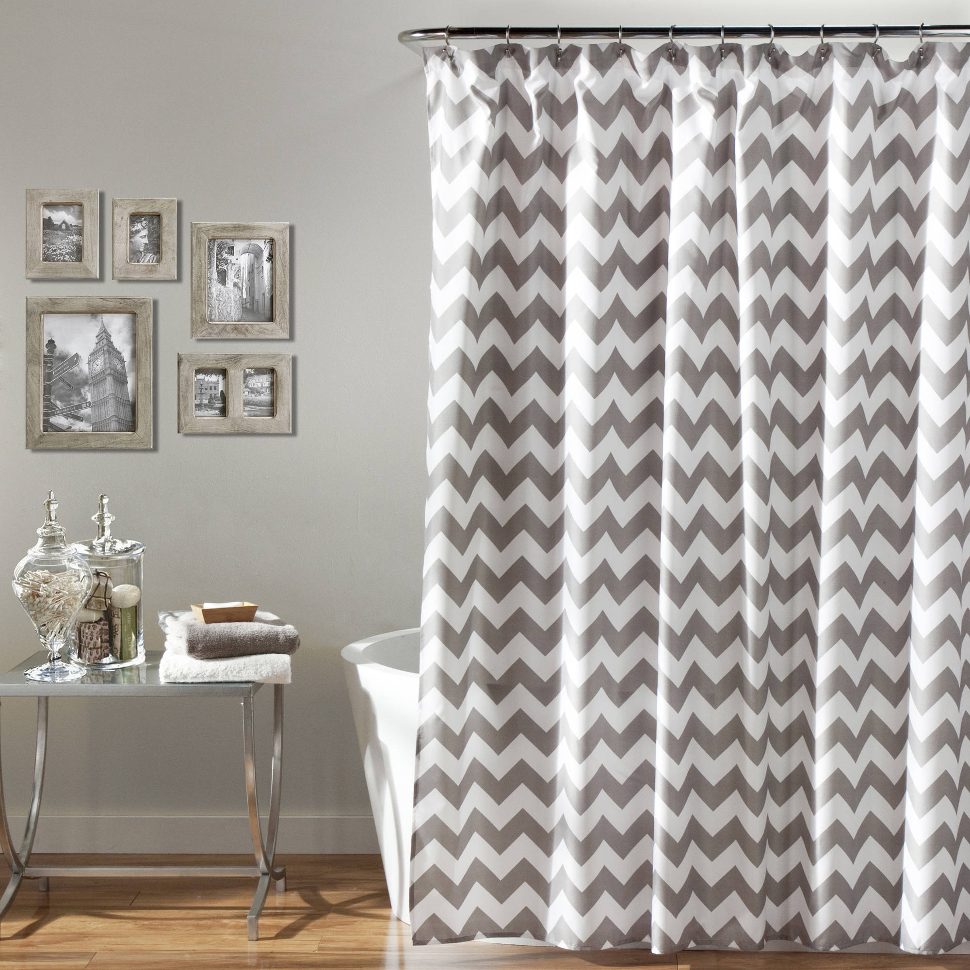 Mainstays Flux Fabric Shower Curtain Walmart inside dimensions 2000 X 2000