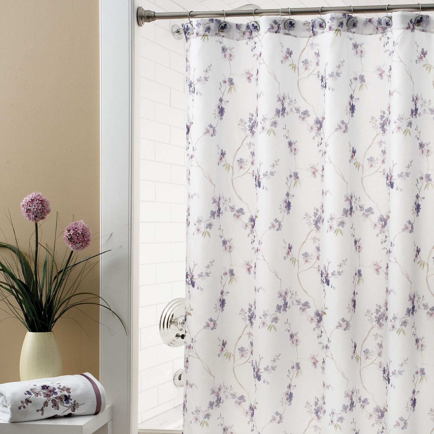 Marvellous Purple And Silver Shower Curtain Photos Best With Sizing 1500 X Mauve Gray Curtains Ideas