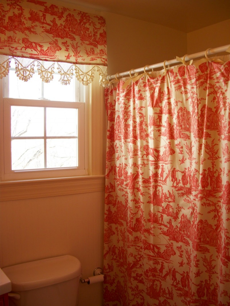 Matching Shower Curtain And Window Valance Shower Curtain Ideas for proportions 800 X 1066
