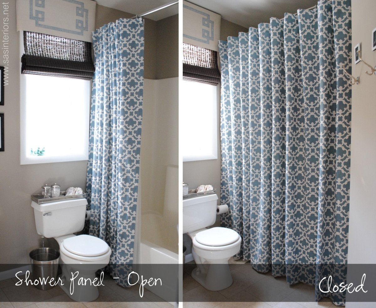 Matching Shower Curtain And Window Valance Shower Curtain Ideas pertaining to size 1200 X 983