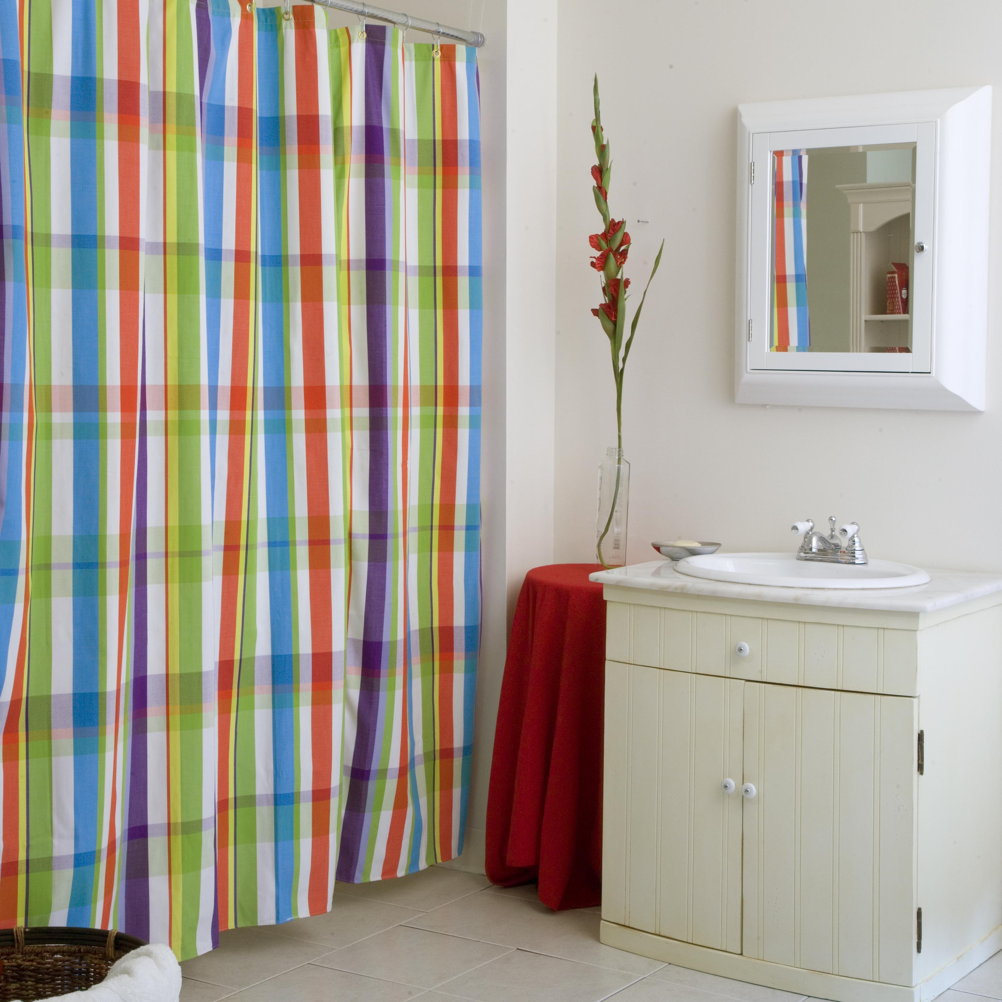Mesmerizing Colorful Striped Shower Curtains Mastermag129 Jpg Inside Size 3200 X