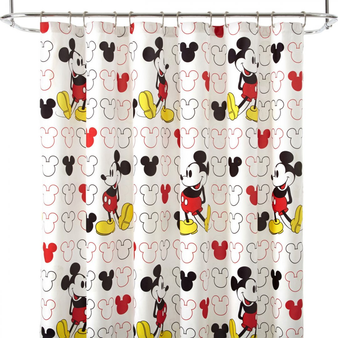 Mickey Mouse Shower Curtain Set Disney Bedding Sets Queen And In Dimensions 1080 X
