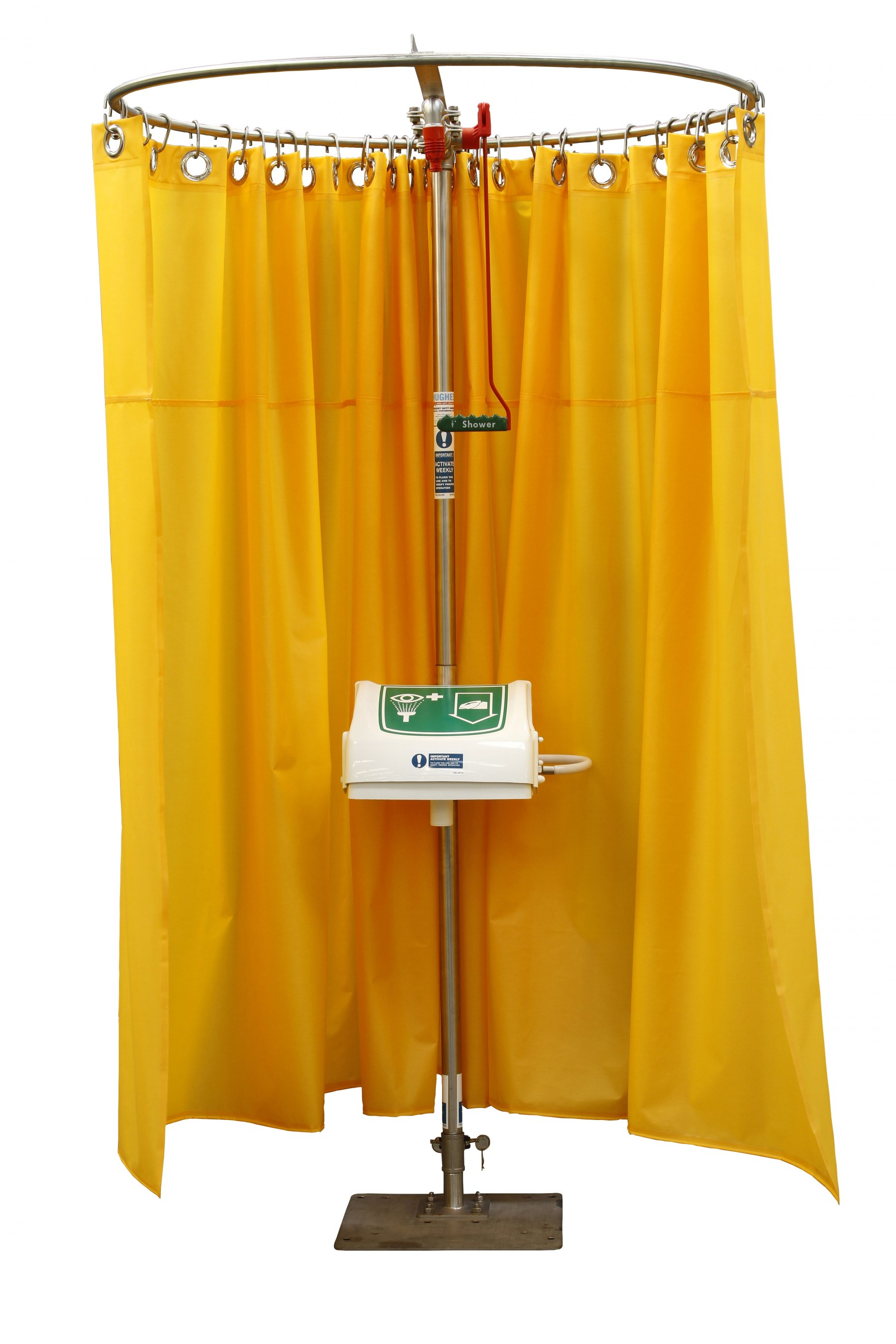 Modesty Curtain with regard to sizing 1800 X 2700