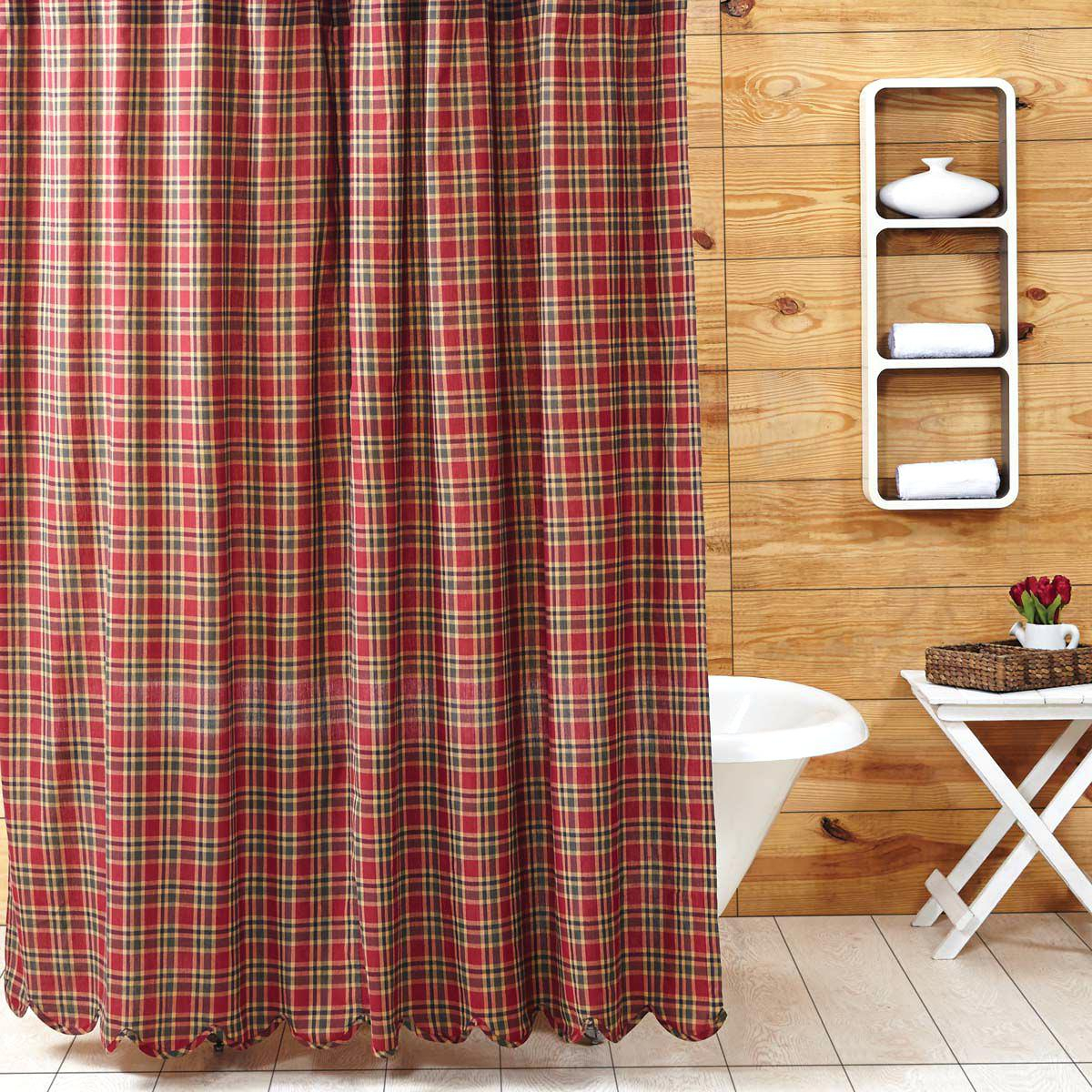 Awesome Plaid Shower Curtain Gallery - Design Ideas 2018 ...