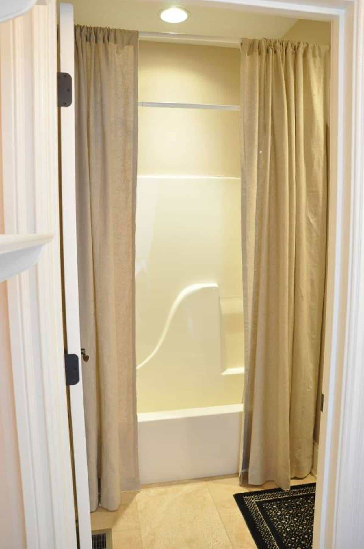 Extra Long Shower Curtains • Shower Curtains Ideas