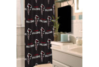 Nfl Atlanta Falcons Decorative Bath Collection Shower Curtain throughout proportions 2000 X 2000