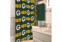Nfl Green Bay Packers Decorative Bath Collection Shower Curtain throughout measurements 2000 X 2000