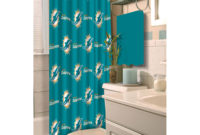 Nfl Miami Dolphins Decorative Bath Collection Shower Curtain inside measurements 2000 X 2000