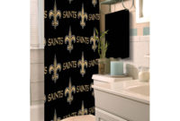 Nfl New Orleans Saints Decorative Bath Collection Shower Curtain for dimensions 2000 X 2000